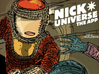 Nick Universe ui ux nyc logo cool branding poster design illustration ios app