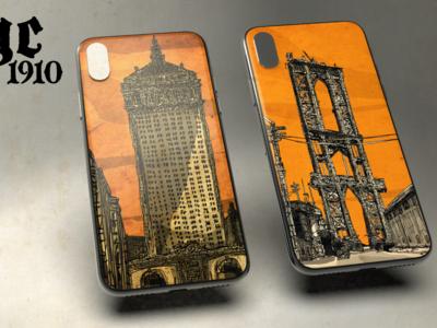 My new phone case illustrations art director illustration new york nyc phone case