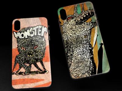 My new phone case illustrations illustration monster phone case