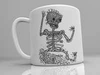 Skull mug is coming, who wants it!