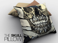 Who Wants A Skull Pillow