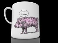 Everyone needs a pig mug