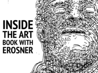 Inside the art book with erosner