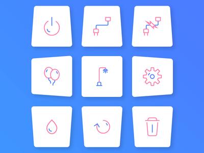 Icons creation