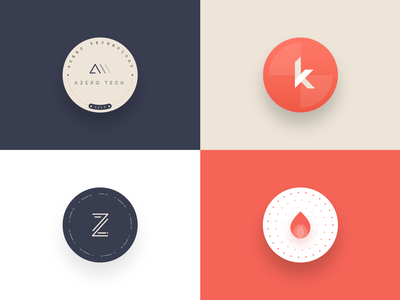 Coasters sticker pack sticker sticker mule 2019 circle k drop water red coasters vector ball typography logo branding dribbble illustration design