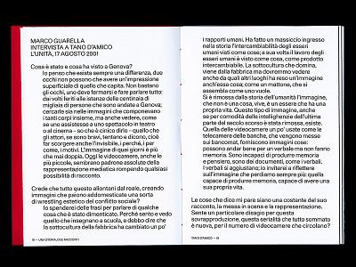 D'Amico—Echaurren italian school research layout editorial design typography design paper book editorial published handmade print