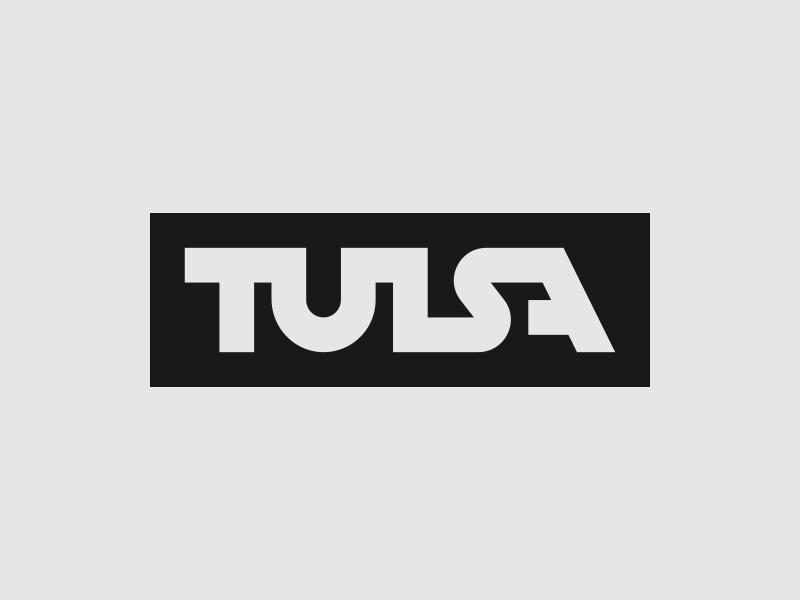Tulsa Logo logo wordmark oklahoma tulsa