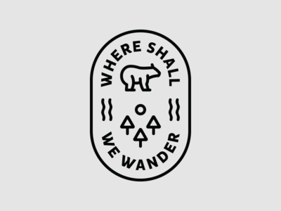Where Shall We Wander Badge