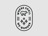 Where Shall We Wander Badge