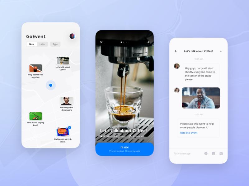 GoEvent: A meetup app