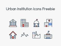 Urban Institution Icons