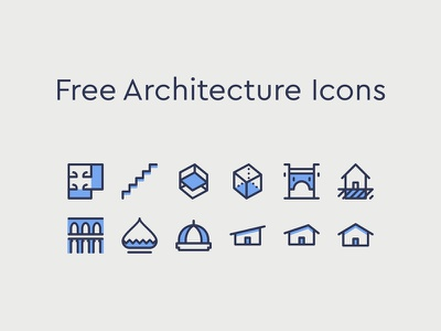 Architecture Icons space house dome roofing floorplan flat architecture
