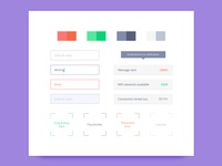 Style Guide UI Elements