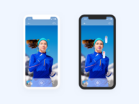 Face recognition app ui