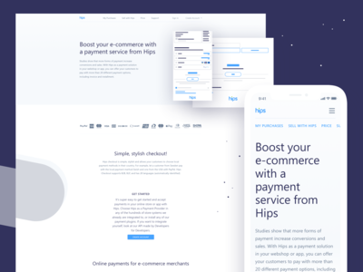 Hips - Merchant page