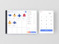 Scanning a Winterwear sale - POS App UI