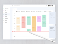 Timeline Page - Admin Dashboard