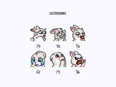 Easterdamnz Twitch Emotes