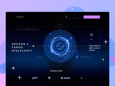 🚀 Spaceship Interface Dashboard for Cosmos UI