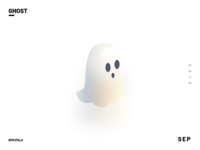 Spooky Ghost Character