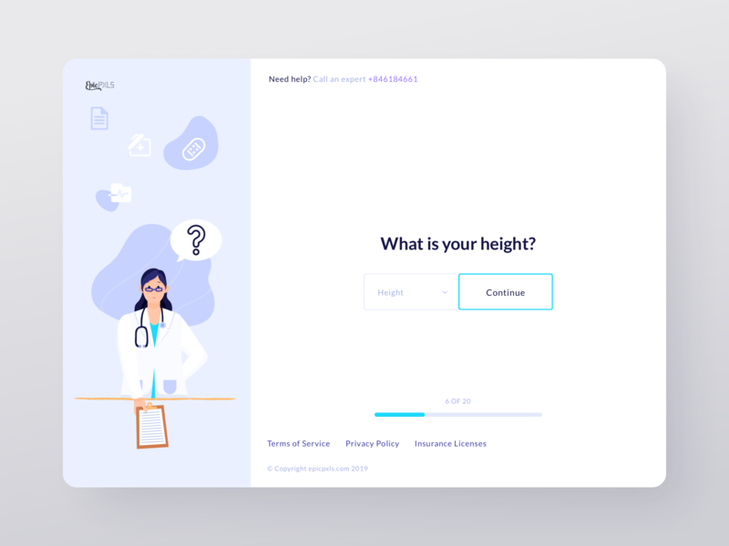 Doctor questionnaire wacom sketch minimal drawing icons digital artist digital artwork illustration webpage website web document loading bar dropdown button medical doctor