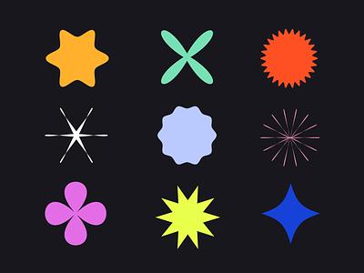 💥 Geometric Shapes 💥 (mini-tutorial) how to tutorial patterns stars illustration geo shapes geometric shapes