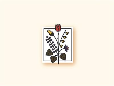 Flowers 💐💐💐 flower bouqet floral branding floral logo bouquet flores flor flower flowers