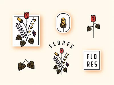 💐💐💐 flower bouqet floral branding floral logo bouquet flores flor flower flowers