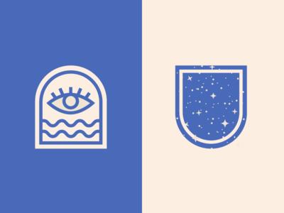 Woke + Wavey branding ✨ space portal stars spacey cosmic blog wavey woke