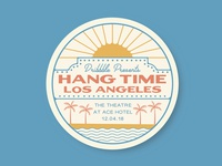 Hang Time LA - Sticker