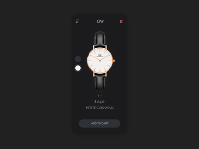 Watch Store designs userinterface simple illustrator figmadesign invisionapp adobe xd 3d animation 3d 2d interaction ux ui app aftereffects minimal design dribbble animation