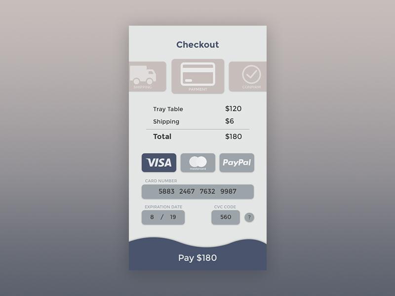 Checkout mobile