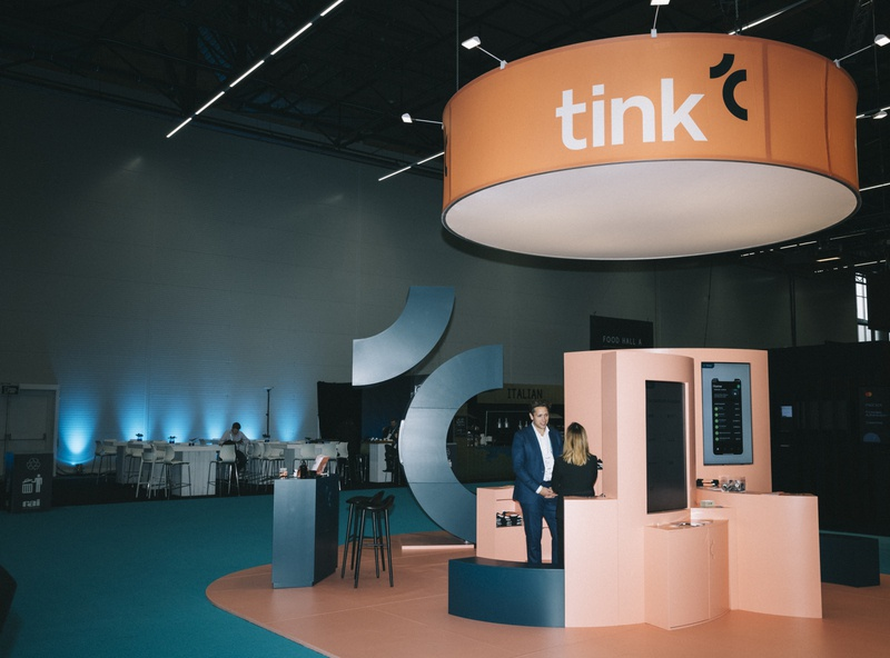 Tink Booth Design – Money2020 (2019) interior conferences booth design