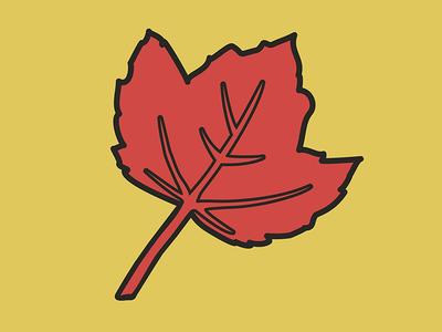 Autumnal Leaf Bold