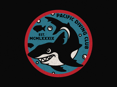 Pacific Diving Club Patch