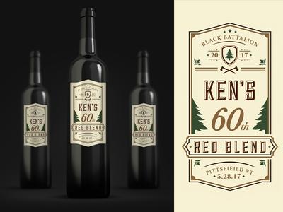 60th Birthday Wine