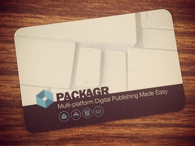 Packagr Promo Card
