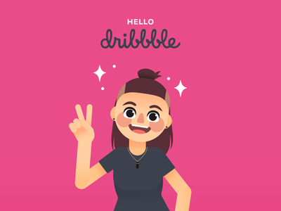 Hello Dribbble! ✌️