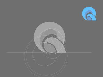 Q Logo Concept Grid