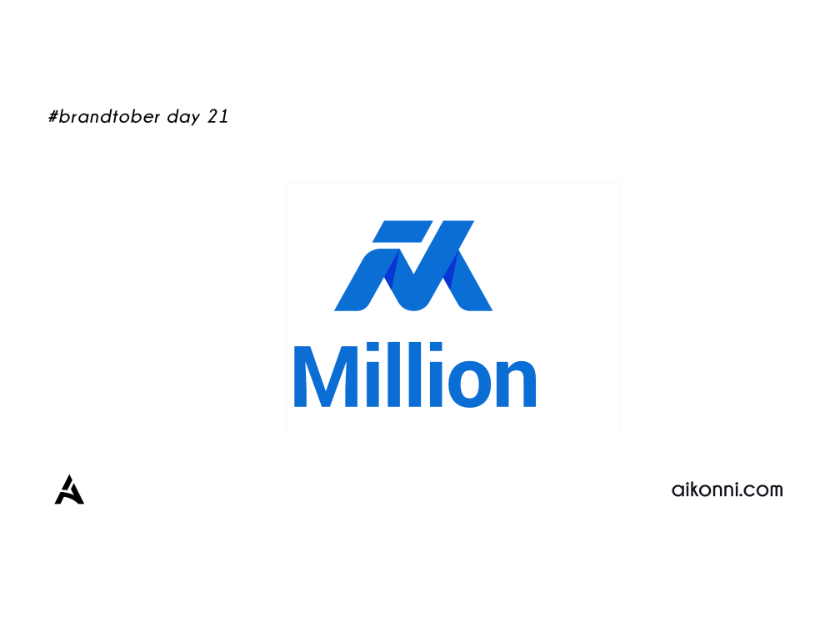 Brandtober Day 21; Million m logo exploration m logo design branding savings banking banking app typography lettermark million iconography appicon technlogy fintech logo design animation motion design brand identity logo design graphic design