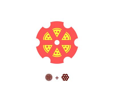 Pizza-Revolver Logo