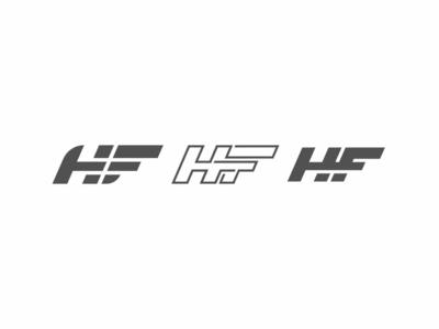 HF Exploration branding brand design hf monogram logo exploration typography logo motion design brand identity logo design graphic design