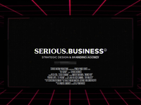 Serious Business | Reel 19' Endframe