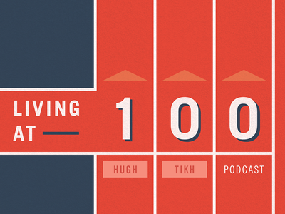 Living at 100 (Podcast Artwork) artwork itunes podcast