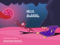 Hello, Dribbble!