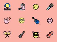 Playful Icon Set