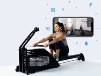 CITYROW GO + WaterRower