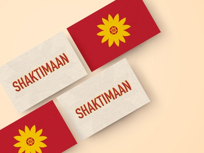 Shaktimaan Business Card - Weekly Warm-Up