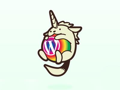 Wapuunicorn 🦄 branding edinburgh illustration wordpress wapuu