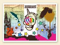 WordCamp Edinburgh 2017 - Postcard